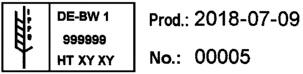 REINER 940 - Etiquetado de materiales de empaquetado en conformidad con la normativa IPPC!