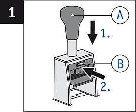 REINER B6 Stempelkissen wechseln 1.jpg
