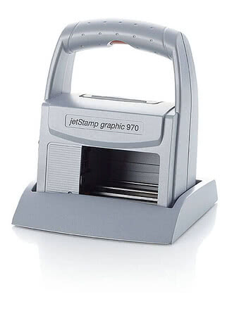 REINER jetStamp graphic 970 - illustration du produit: jetStamp graphic 970 dans la station de base