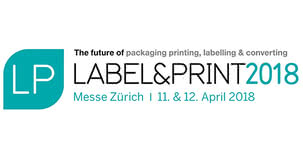 Label & print 2018 in Zürich – the industry meeting place for the packaging industry