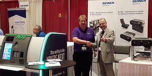 REINER présente le domaine d'activité des scanners à l'occasion de la plus grande conférence du monde des distributeurs automatiques de billets (ATM)