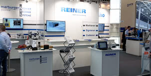 REINER presented the novelty jetStamp 1025 at the FachPack trade fair with an excellent response.