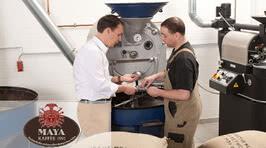 Étiquetage du plus raffiné dans la manufacture de café des Mayas