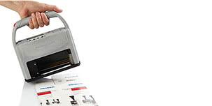 Étiquettes ade. Imprimer maintenance directement sur du carton et du papier cartonné !