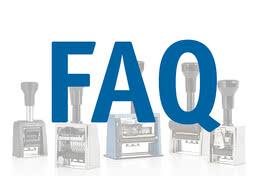 FAQ Sellos manuales