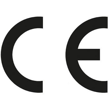 CE logo drucken