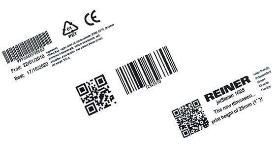 Mobiler Drucker Abdruck Barcode Datum Symbole Text.jpg